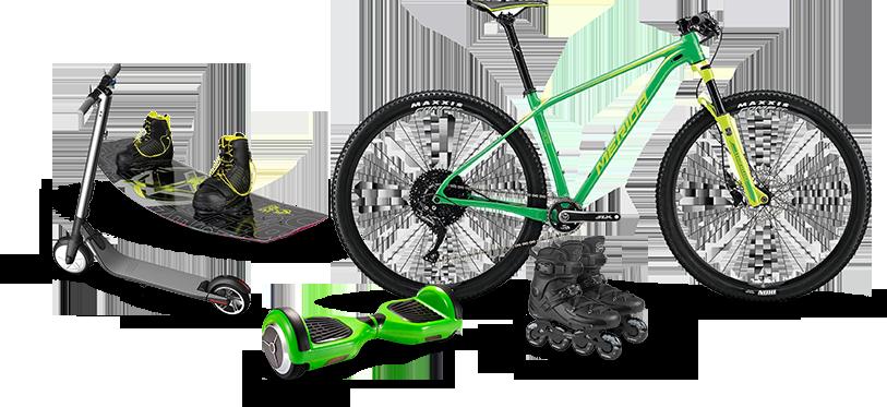Прокат гироскутеров, велосипедов, самокатов