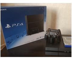 PS4 с играми в комплекте