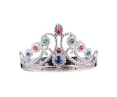 Корона Принцессы серебристая.
