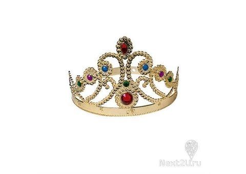 Корона Принцессы золотая