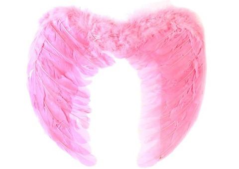 Ангельские крылья розовые Большие