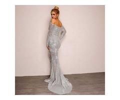 платье с паетками