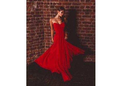 шифоновое платье Танго