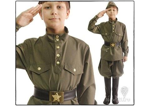 Детская военная форма для мальчика