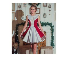 Платье пышное, в русском стиле