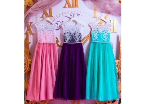 Детское нарядное платье Violet