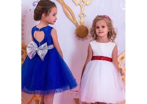 Детское нарядное платье RED BOW