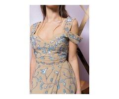 Платье макси отделкой Maya