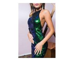 Платье c открытой спиной NastyGal