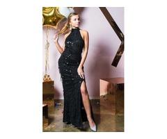 Платье с бахромой PrettyLittleThing