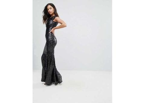 Платье с пайетками TFNC
