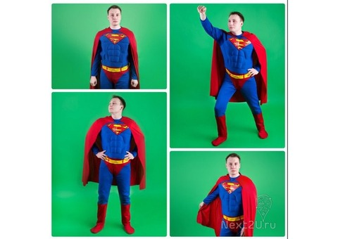 Костюм супергерой Супермен