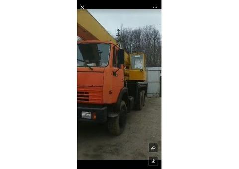 Автокран ивановец 25 тонны