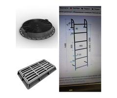 Стремянки С1-00, лестницы металлические Л серии 3.903 кл-13, асбоцементные трубы