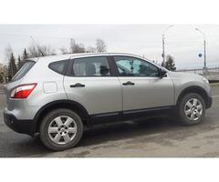 Аренда автомобиля Nissan Qashqai с водителем