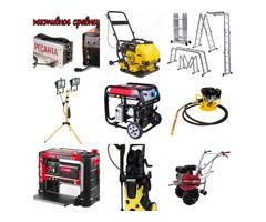 Аренда строительного оборудования и аренда строительного инструмента